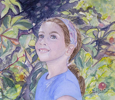 Apple Picking by Carol Flagg