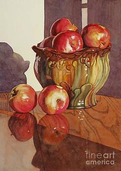 Apple Reflections by Jan Landini