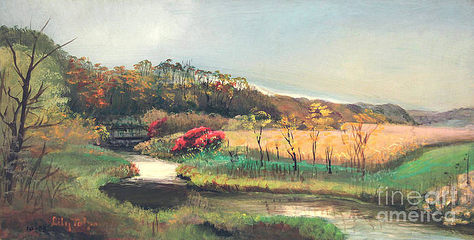 Art By Tolpo Collection - Apple River Early Fall