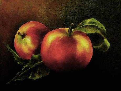 Apple Still Life by Alexandra Kopp