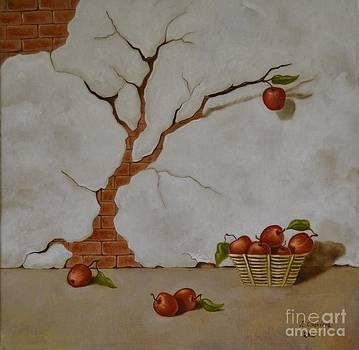 Nathalie Chavieve - Apple tree