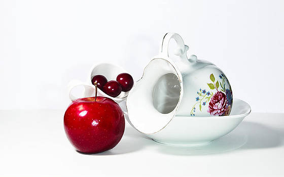 Apples and Cheries by Cecil Fuselier