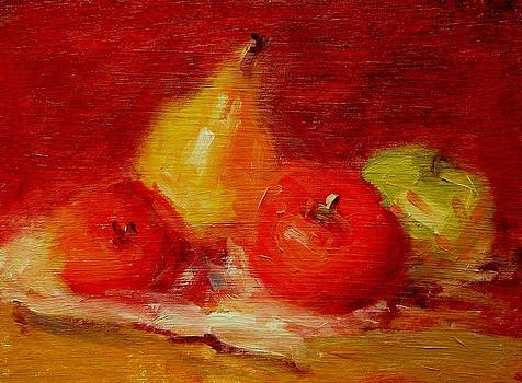 Apples and pears by R W Goetting