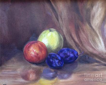 Irene Pomirchy - Apples and plums