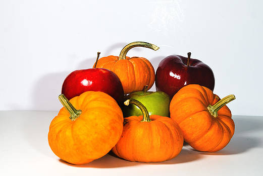 Apples and Pumpkins2 by Cecil Fuselier