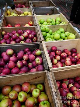 Christine Stack - Apples at the Farmers Market