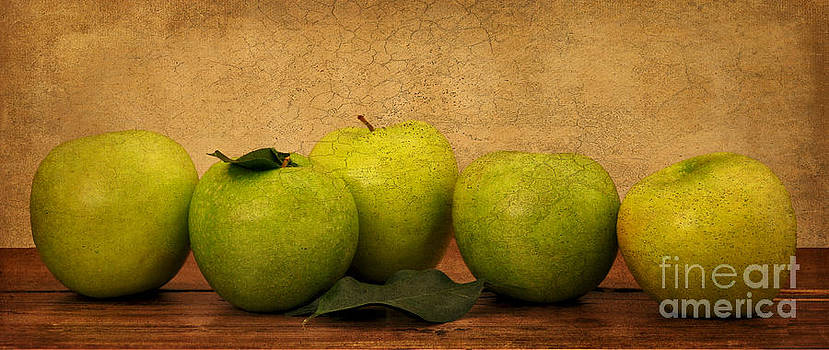 Apples Still Life by Malu Couttolenc