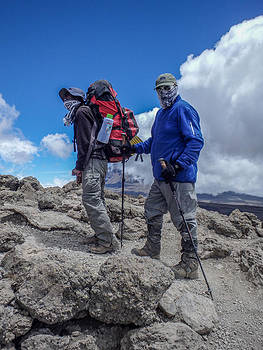 Approaching high camp by Jim DeLillo