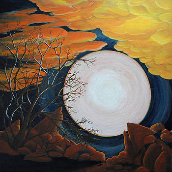 Apricot Moon by Vallee Johnson