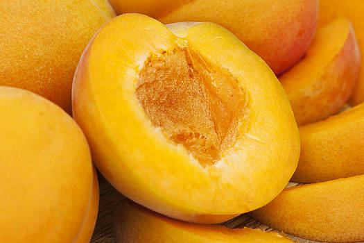 Apricots by Gillian Dernie