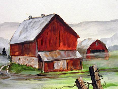 Apulia Farm Barn by Carol Hart