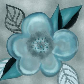 Aqua Bloom by Christine Fournier