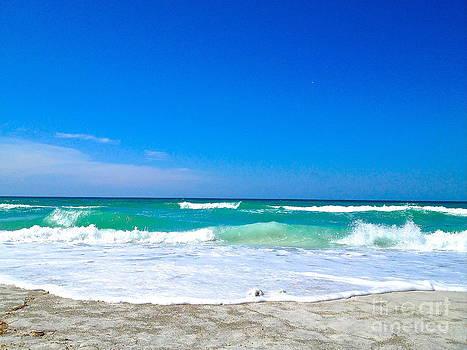 Aqua Surf by Margie Amberge