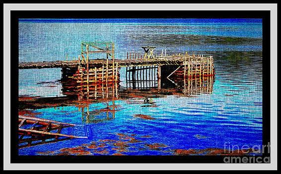 Barbara Griffin - Aquamarine Water and Wharf