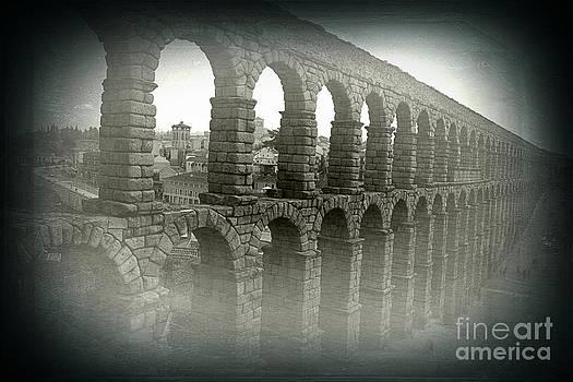 Aqueduct of Segovia by Miryam  UrZa
