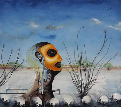 Aqui no nay agua by Ricardo Santos Hernandez