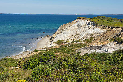 Aquinnah Cliffs Martha's Vineyard Mass by Gail Maloney