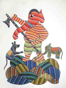 AR 18- Ganesha by unknown Artist