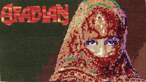 Arabian Girl by Mona  Bernhardt-Lorinczi