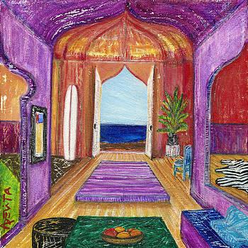 Arabian Nights of Surfing Tales by Adelita Pandini