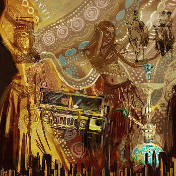 Corporate Art Task Force - Arabian Symbolism