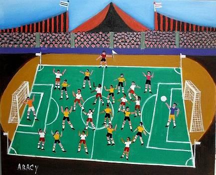 Aracy Tema A Grande Partida De Futebol by Naifjunior Naifjunior