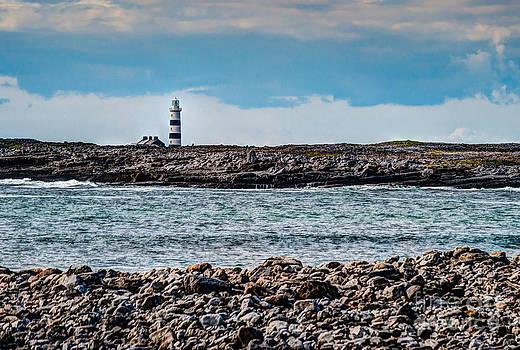 Aran Islands Lighthouse by Kerri Garrison