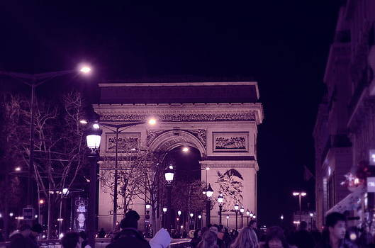 Arc De Triomphe Closer by Riad Belhimer