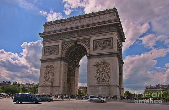 John Malone - Arc de Triomphe in the Afternoon