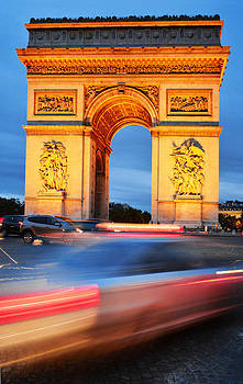 Arc de Triomphe Triumphal Arch in Paris by T Monticello