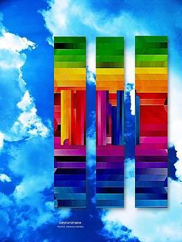 Arc En Ciel Rainbow by Prosper Abitbol