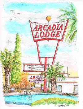 Arcadia Lodge in Route 66 Andy Devine Ave., Kingman, Arizona by Carlos G Groppa