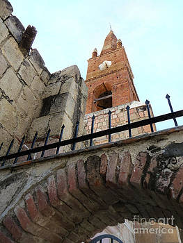Arch And Tower by Claudia Ellis