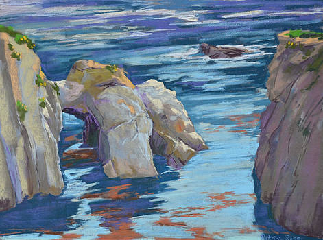 Arch at China Cove by Patricia Rose Ford