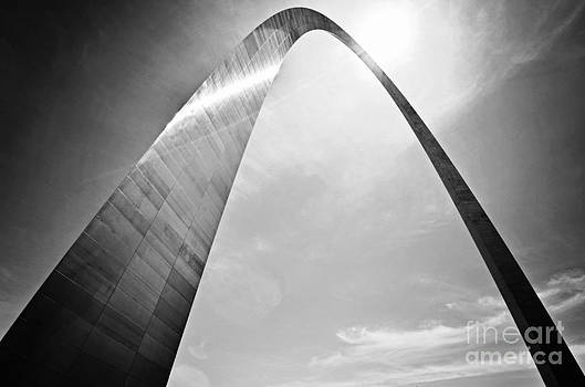 Rachel Barrett - Arch in Black and White