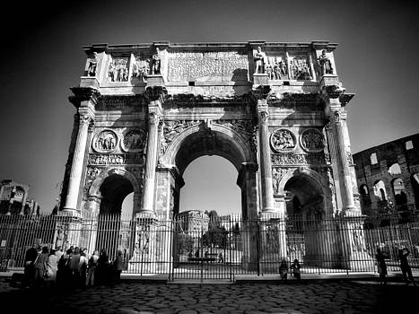 Arch of Constantine by Karen Lindale