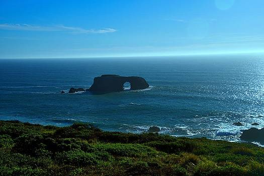 Arch Rock Vista by Michael Courtney