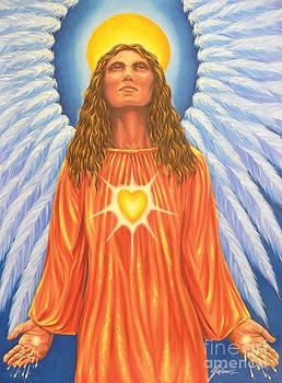 Archangel Chamuel by Ivonne Galanes Svard