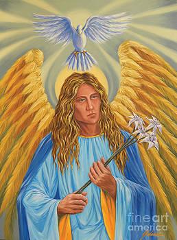 Archangel Gabriel by Ivonne Galanes Svard