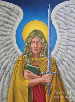 Archangel Jophiel by Ivonne Galanes Svard