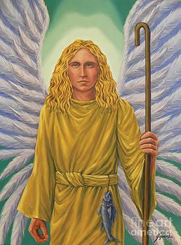 Archangel Raphael by Ivonne Galanes Svard