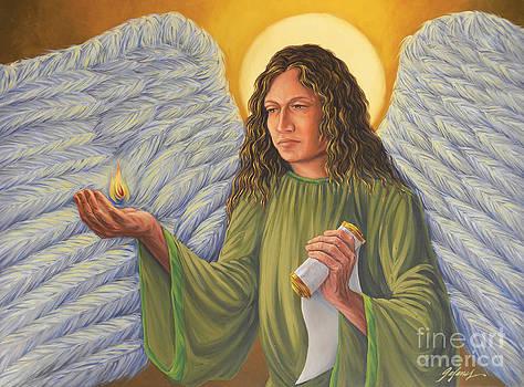 Archangel Uriel by Ivonne Galanes Svard