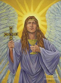 Archangel Zadkiel by Ivonne Galanes Svard