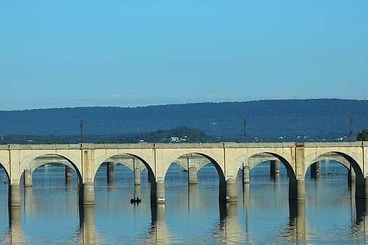 Arched Bridge by Rhonda Humphreys