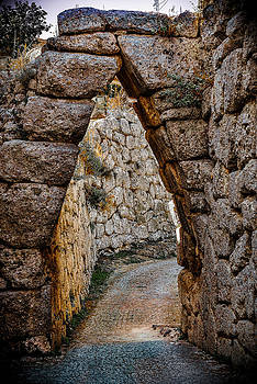 Arched Medieval Gate by Dany Lison