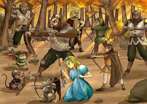 Archery in Oxboar by Reynold Jay