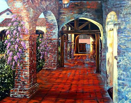 Arches at Capistrano by Lily Adamczyk