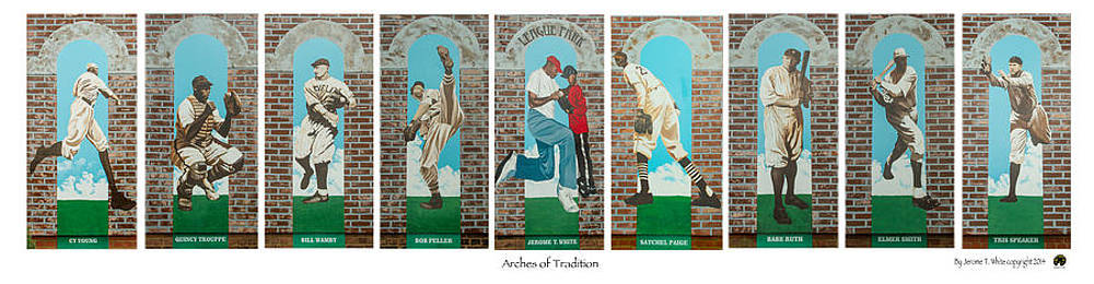 Arches of Tradition by Jerome White
