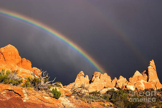 Arches Rainbows by Pam Colander