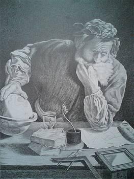 Archimedes by Zdzislaw Dudek